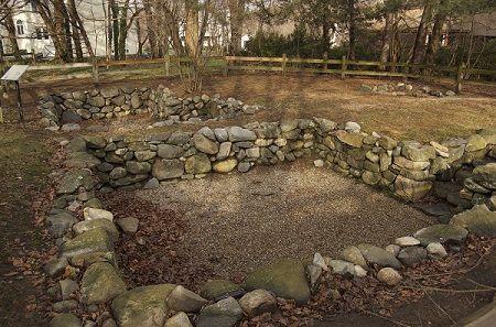 Foundation of the Salem Village Parsonage, Danvers, Mass