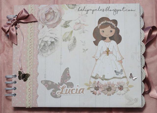 Heli Papeles ♥: Libro de firmas para Lucia