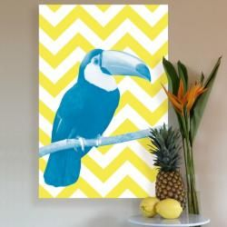 Toucan - Blue and Yellow