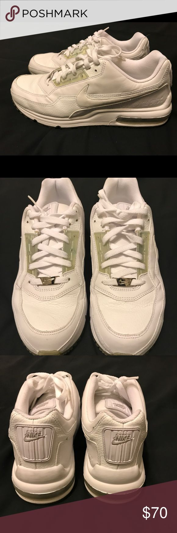 Air Max Wright running shoes Air Max Wright running shoes all white. Very gently worn. Almost like new. Size 11 Nike Shoes Sneakers