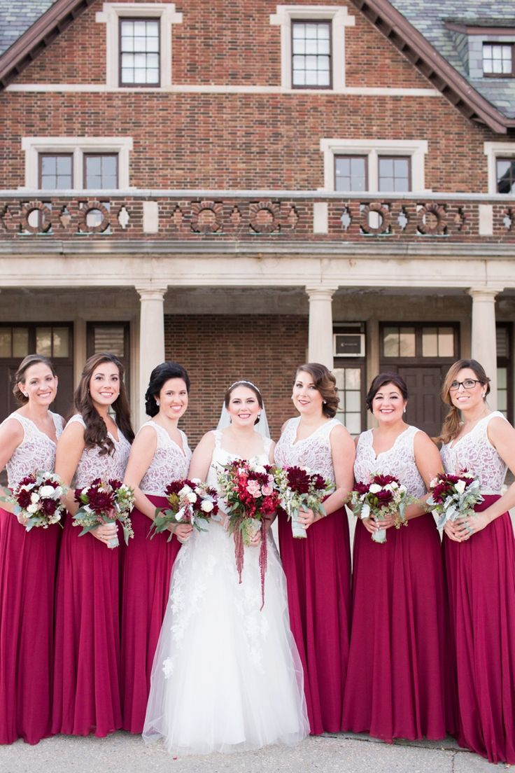 520 best bridesmaid dresses images on pinterest prom dresses a vintage glam champagne red wedding ombrellifo Images