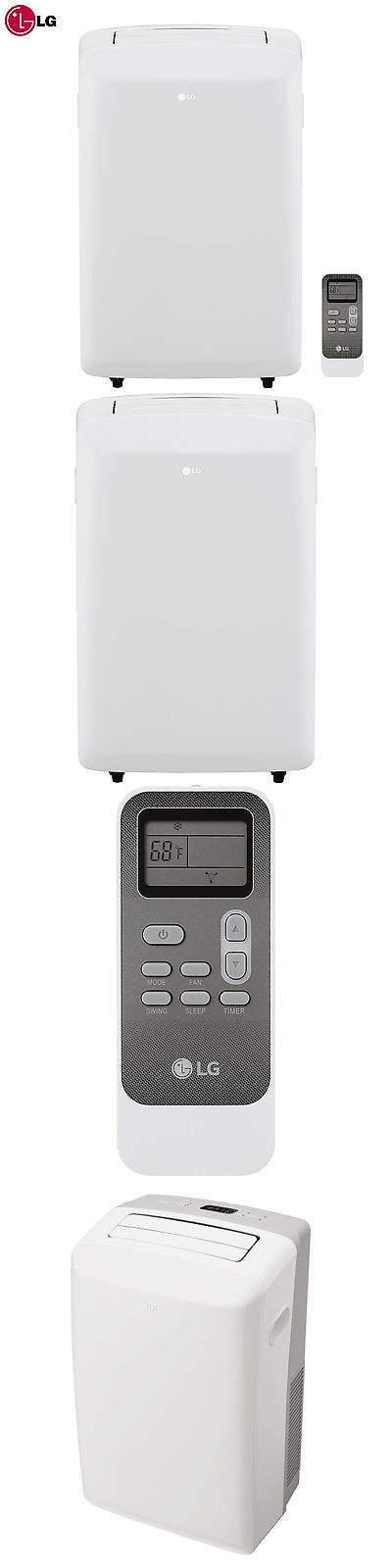 Air Conditioners 69202: Lg 8000-Btu 115V Portable Air Conditioner With Remote Control, White - Lp0817wsr -> BUY IT NOW ONLY: $260.85 on eBay!