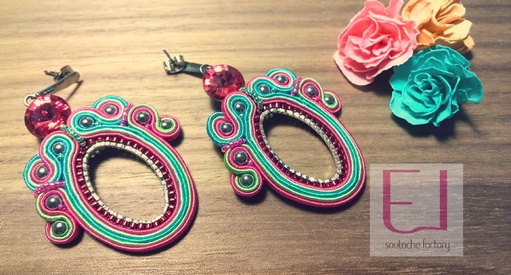 Emi La soutache jewelry