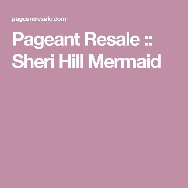 Pageant Resale :: Sheri Hill Mermaid