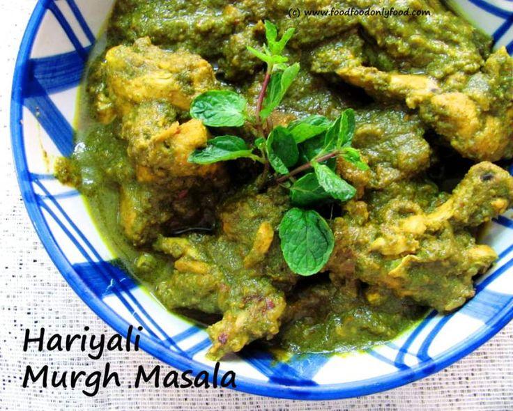 Hariyali Murgh Masala (Indian Green Chicken Curry) – Delicious Addiction
