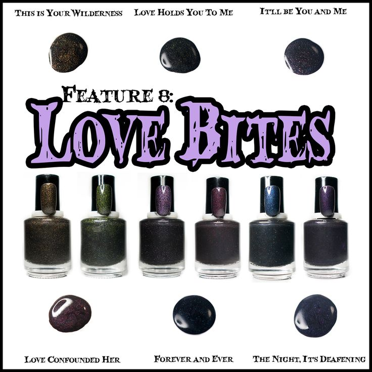 The Love Bites Collection ~ Inspired by Eternal Love in Vampire films - coming February 2016