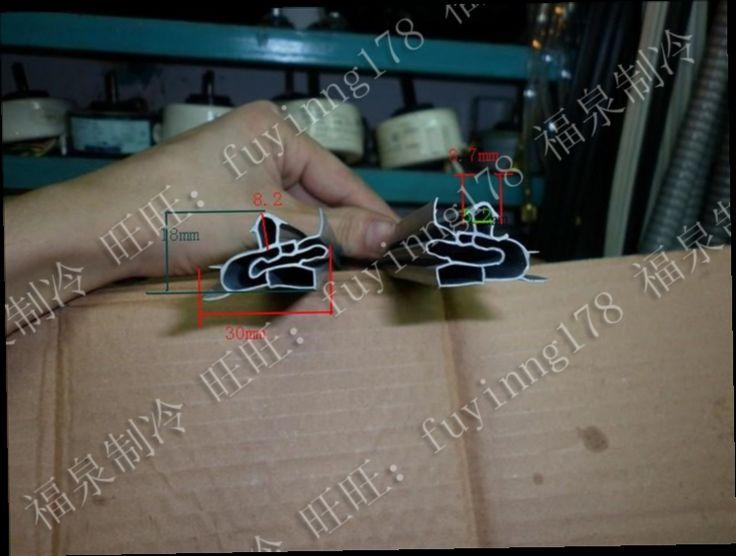48.00$  Watch here - http://alihfz.worldwells.pw/go.php?t=32711274287 - Refrigerator door seal strip freezer refrigerator door sealing strip to magnetic stripe card slot middle glue 48.00$