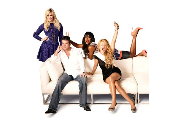 The #XFactor judges are read for the S3 Premiere on Sept 11 on #CTV Two. #DemiLovato #SimonCowell #KellyRowland #PaulinaRubio