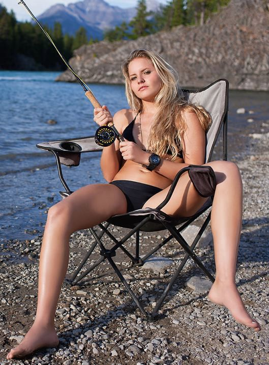 sexy hunting and fishing babes