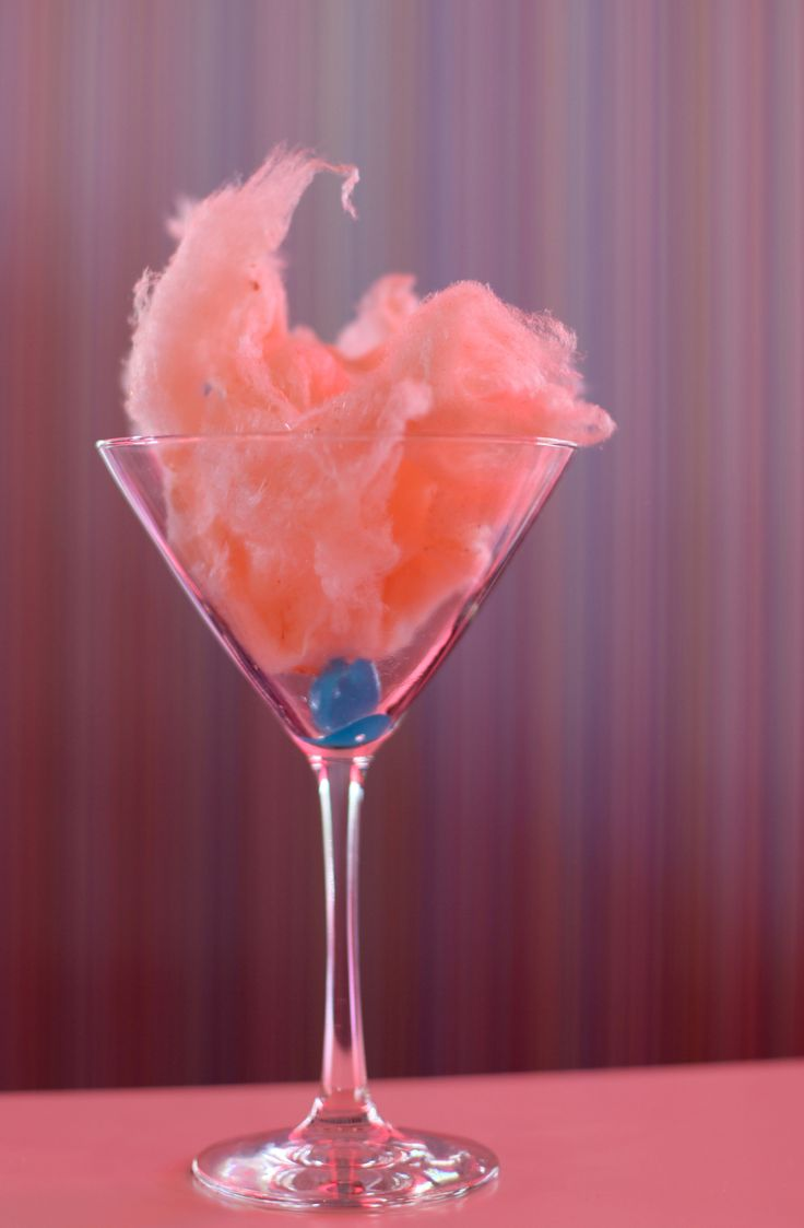 Serendipity 3 Opens in Las Vegas - A cotton candy martini before the vodka at the Serendipity 3 Restaurant, which is in front of Caesars Palace on the Las Vegas Strip. This Serendipity 3, which opened Monday, is based off the original Serendipity 3 in New York City.