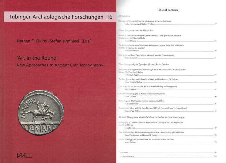 'Art in the Round' New Approaches to Ancient Coin Iconography