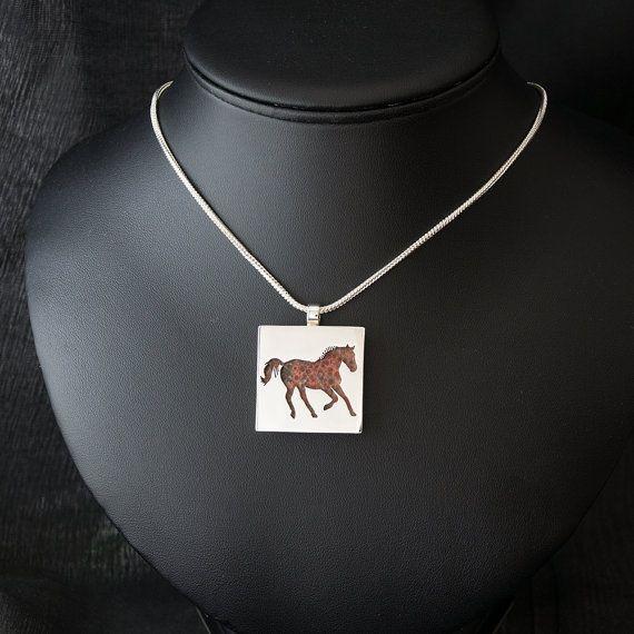 Horse featuring Poppy Jasper Handcut by LittleWondrousMonkey