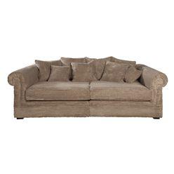 BANKSTEL SACRAMENTO JAMES TAUPE RIB ROFRA Home meubelen en interieur accessoires