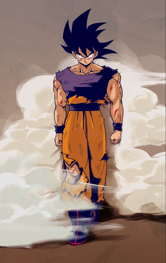DBZ goku vegeta anime dragon ball wallpaper aesthetic art