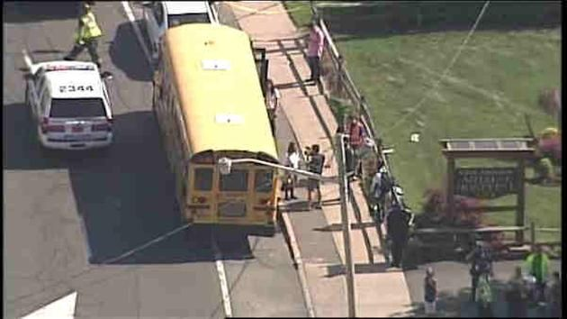 DEVELOPING: Seventeen people- 14 of them children- have been injured in a school bus accident in East Meadow, Long Island Monday afternoon. MORE: http://7ny.tv/1hsOLw5  Need an injury lawyer in New York Ajlouny Injury Law http://www.ajlounyinjurylaw.com