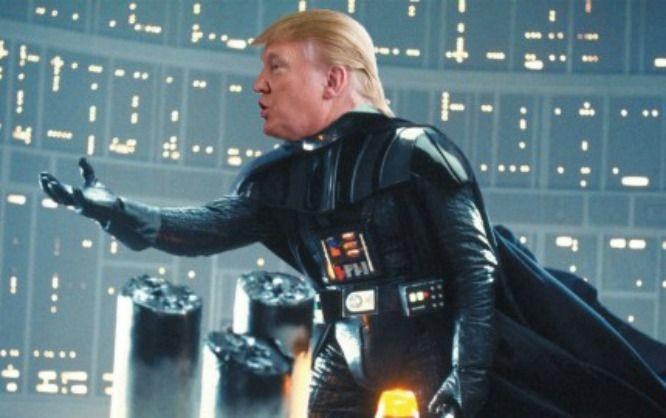 This Donald Trump / Darth Vader Mashup Is Too Good