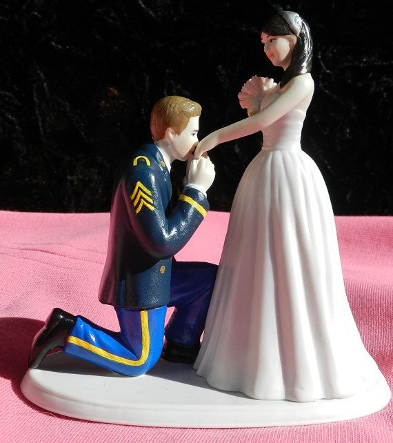 US Army MILITARY soldier prince wedding cake by CarolinaCarla, $125.00