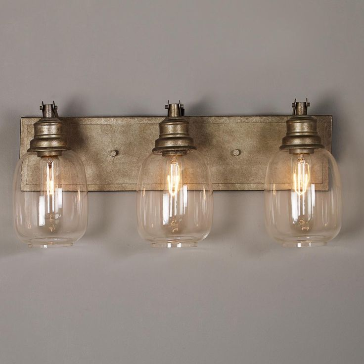 Vanity Lights Shine Up Or Down : Best 25+ Bath light ideas on Pinterest Vanity light fixtures, Industrial bathroom lighting and ...