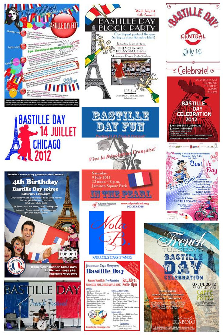 bastille day events in france