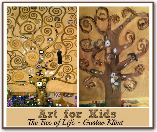 Klimt Tree Of Life Art Lesson 4498 best Art f...