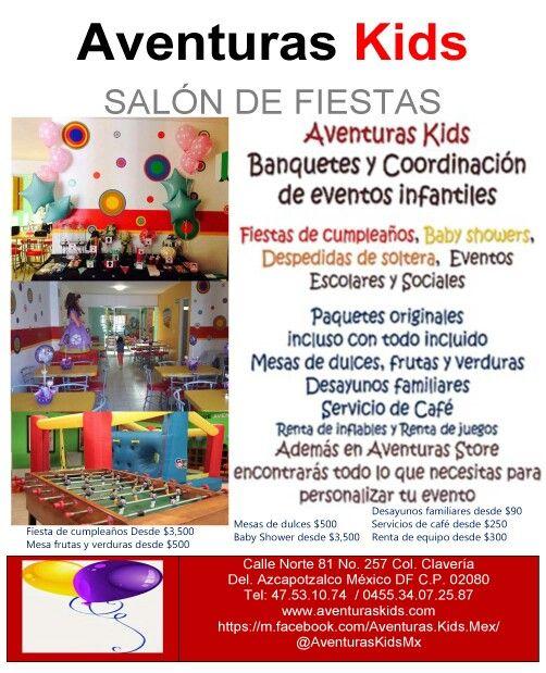 Todo para tu evento con nosotros o en tu domicilio sal n for Acuario salon de fiestas