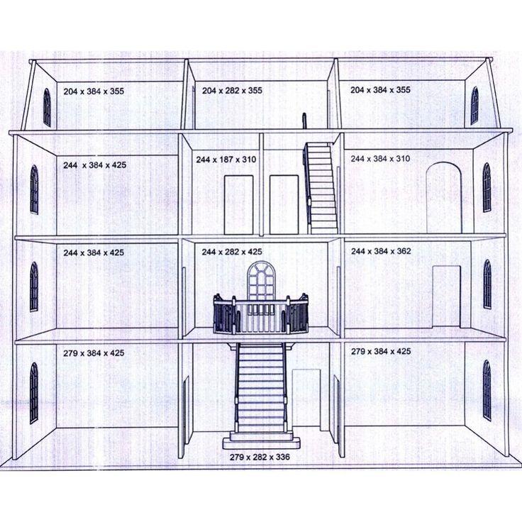 Dolls House Plans] Dollhouse Canadian Woodworking Magazine, Free ...