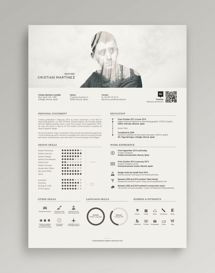 8 best Resume and Cover Letter images on Pinterest Resume, Resume