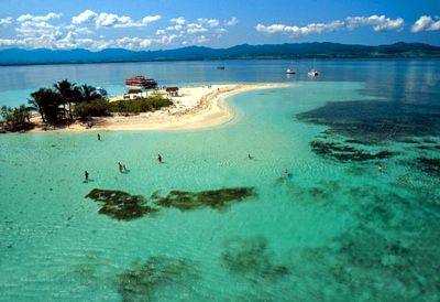 Îlet Caret, Guadeloupe  FWI : beautiful Butterfly Island !