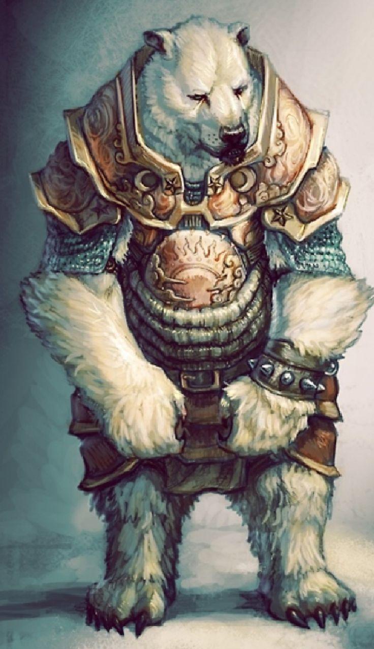 .Bear-man Warrior