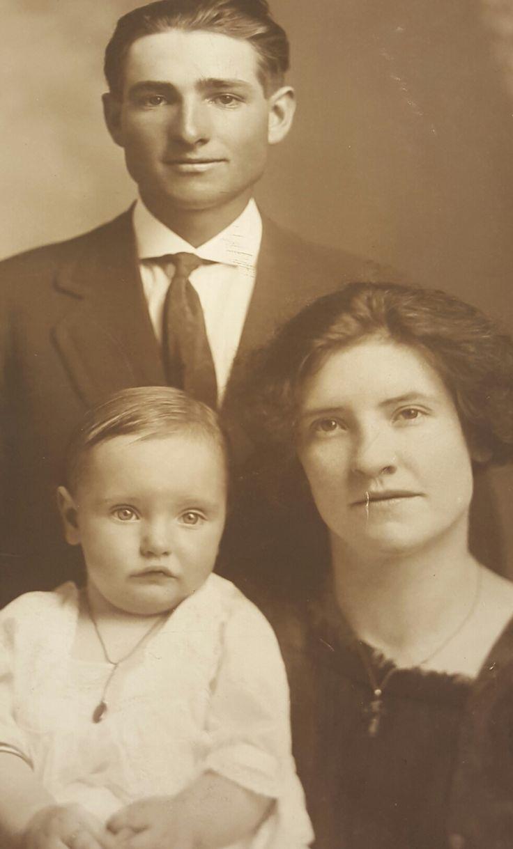Peter LeRoy Larsen, Lulu Merle Stratton, Audrey Wenonah Larsen