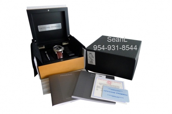 Panerai 177 Luminor Marina Manual Wind Titanium 44mm  http://www.collectionoftime.com/specification.php?wid=198=16=11