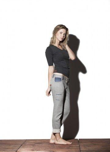 Spodnie - Boyfriend dostępne na: http://bozzolo.pl/kobieta/spodnie-dresowe-damskie.html