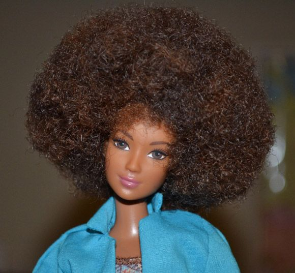 Barbie black power.