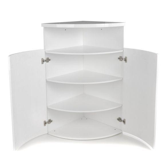 meuble d angle vaisselier blanc
