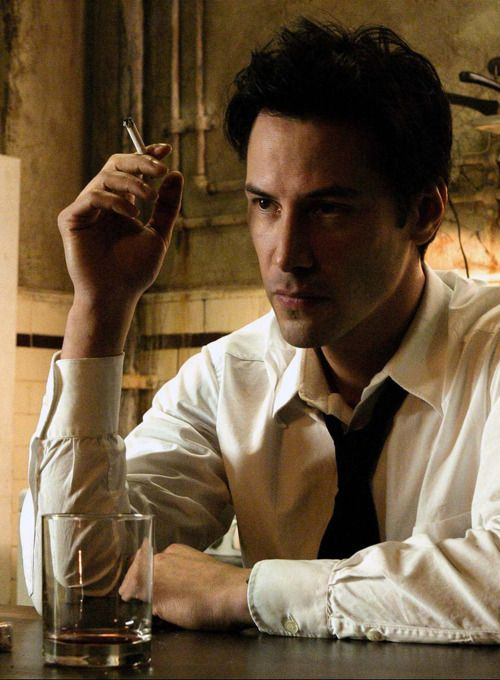 Keanu in Constantine, one of my favorite movies of all time. Thanks @Jared Randall Rivera !!