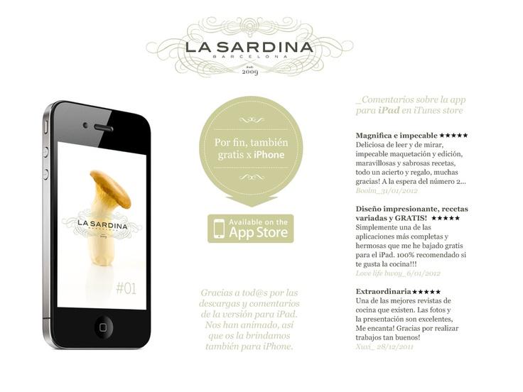 Mejores 18 imágenes de La Sardina BCN en Pinterest | Cocinas, Itunes ...