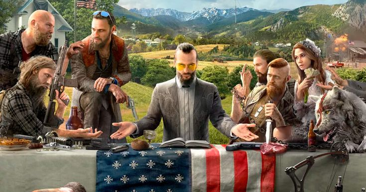 Villains in Upcoming Video Game are White Christian Right-wing Extremists from Montana
