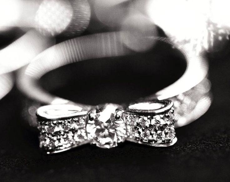 Chanel Bow ring..