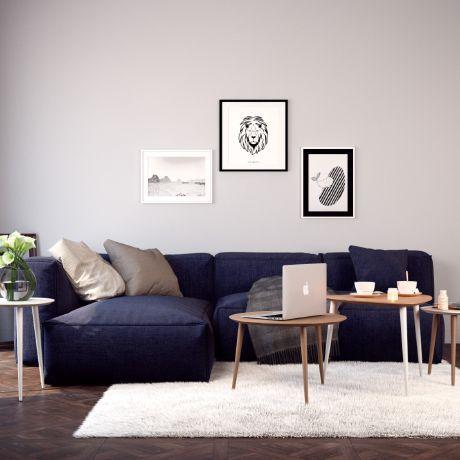 stylisches wohnzimmer von mycs gmbh - Stylisches Wohnzimmer
