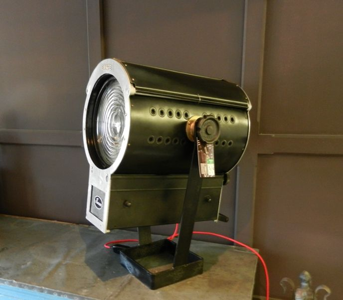 Original 1940s stage lights for sale on SalvoWEB form MASCo Architectural Salvage in Gloucestershire [Salvo code #discoversalvage #salvo #reclaimed