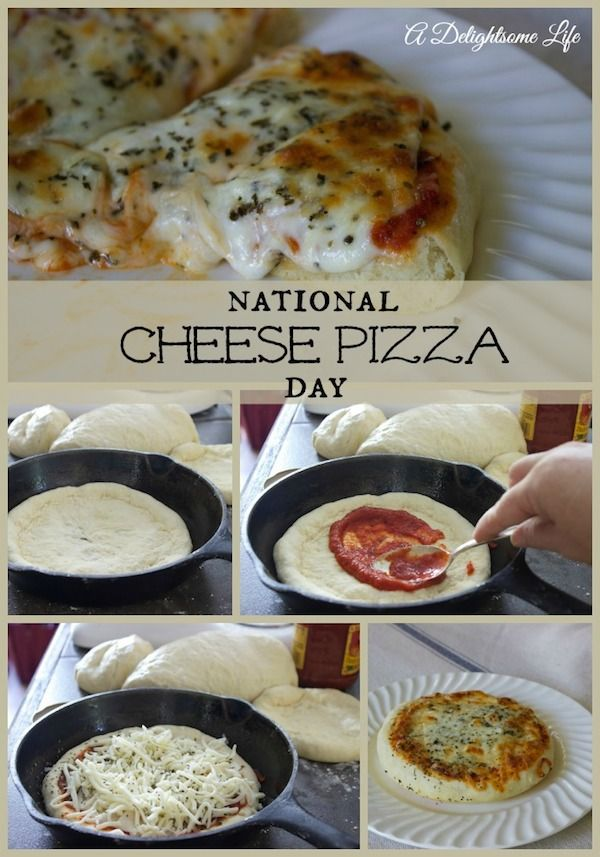 combining the science of baking courtesy of Shari's Berries and National Cheese Pizza Day!
