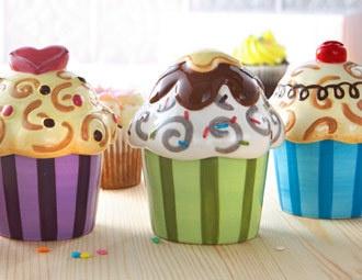 Ceramic Cupcakes - just love these