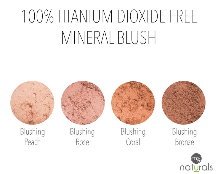 Our blush is free from titanium dioxide, harsh chemicals, parabens, Bismuth Oxychloride, talc, synthetic dyes, fillers, fragrance & preservatives.It is made