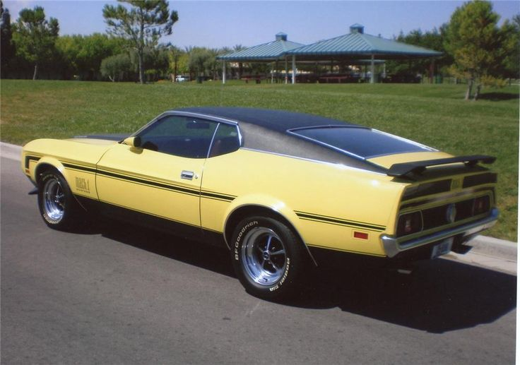 1971 FORD MUSTANG MACH 1 FASTBACK - 66379