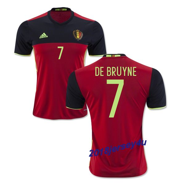 5206e4f61 belgium 11 kevin mirallas red home long sleeves mens adults 2016 ...