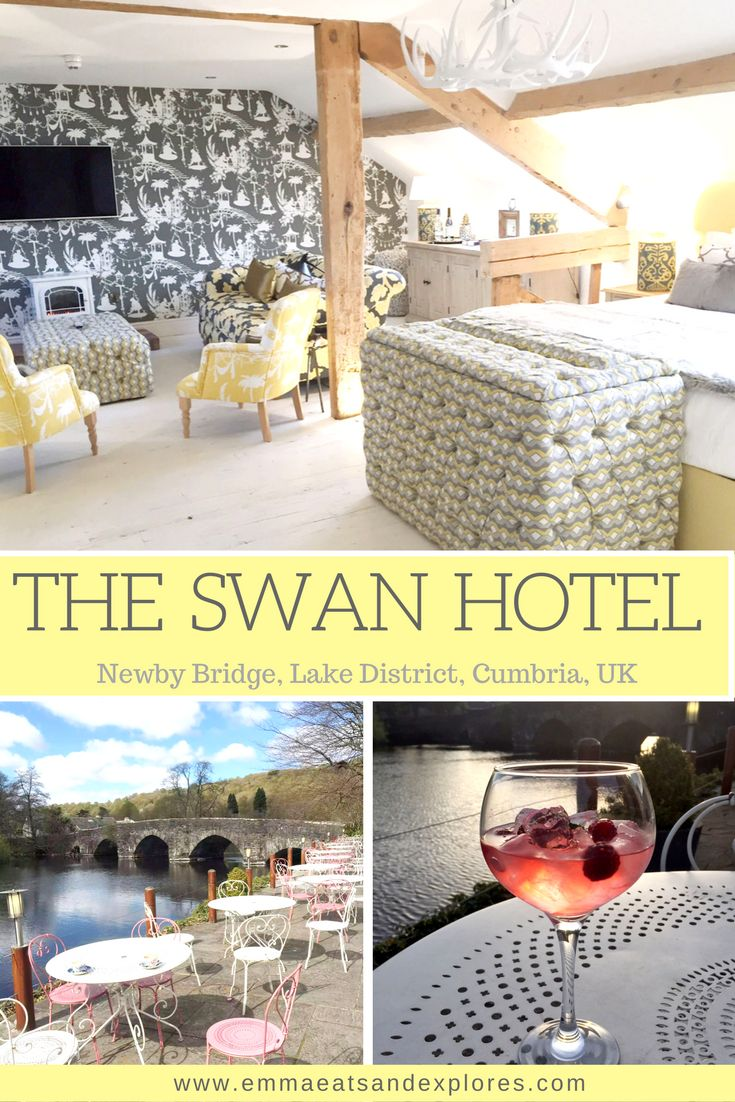 The Swan Hotel - a luxury Spa Hotel on the south tip of Lake Windermere in the Lake District, Cumbria. Facilities include spa, pool, restaurant