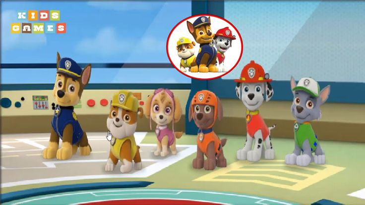 Nickelodeon Games to play online 2017 ♫Paw Patrol Pups Save the day♫ Kids Games