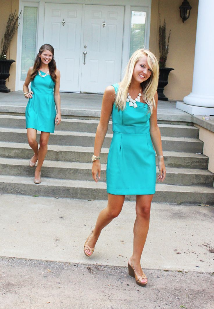 Love this sorority recruitment dress by @Kim Luttrell Clothing !