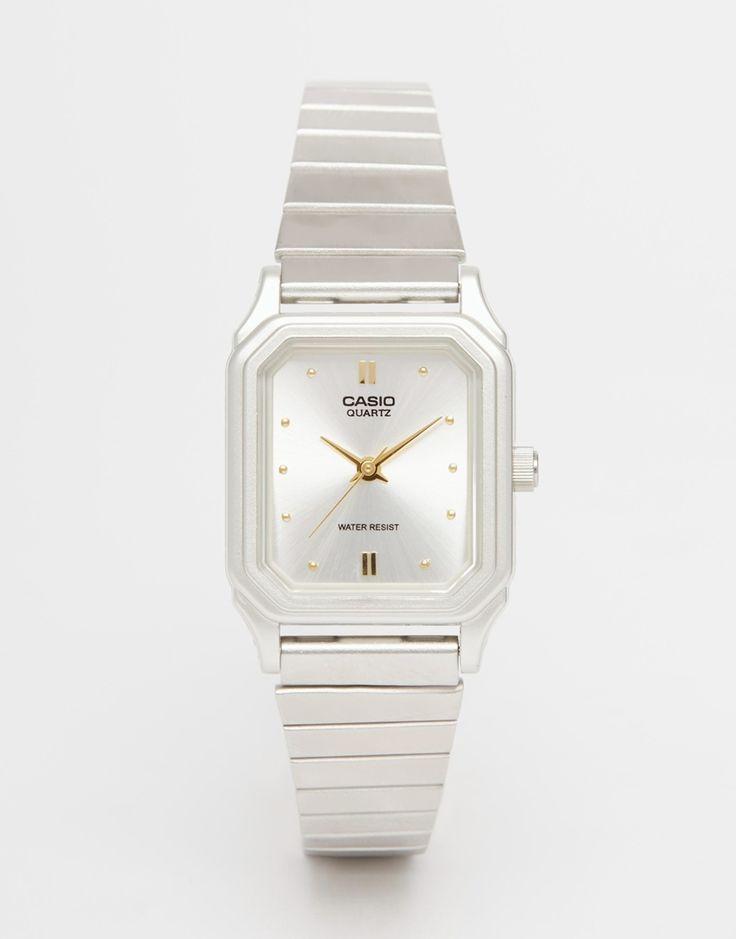 Bild 1 von Casio – LQ 400D 7AEF– Armbanduhr im Vintage-Look