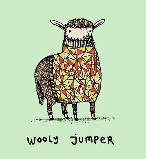 Wooly Jumper by Sophie Corrigan